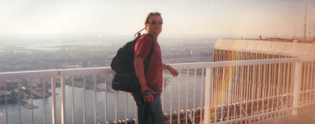 Me on top of the World Trade Center